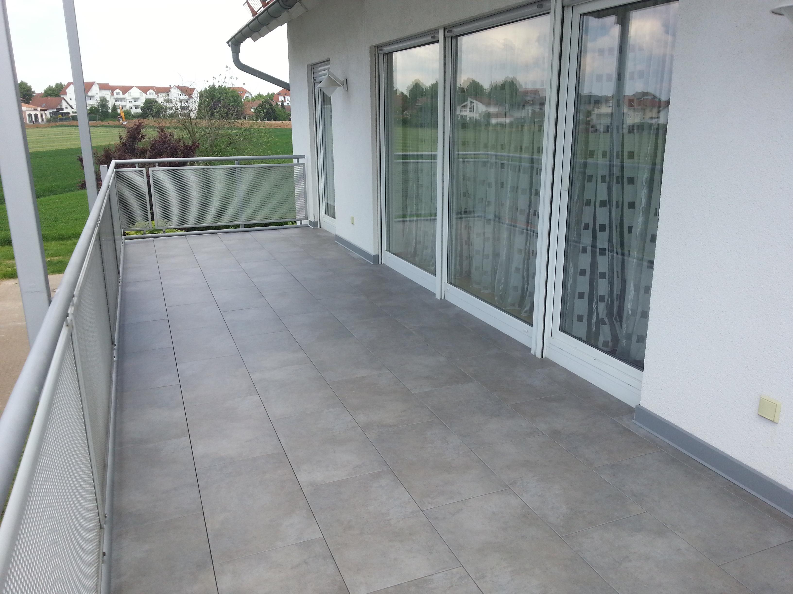 Balkon fliesen  Terrassensanierung - Balkon Sanierung Frankfurt u. Umgebung