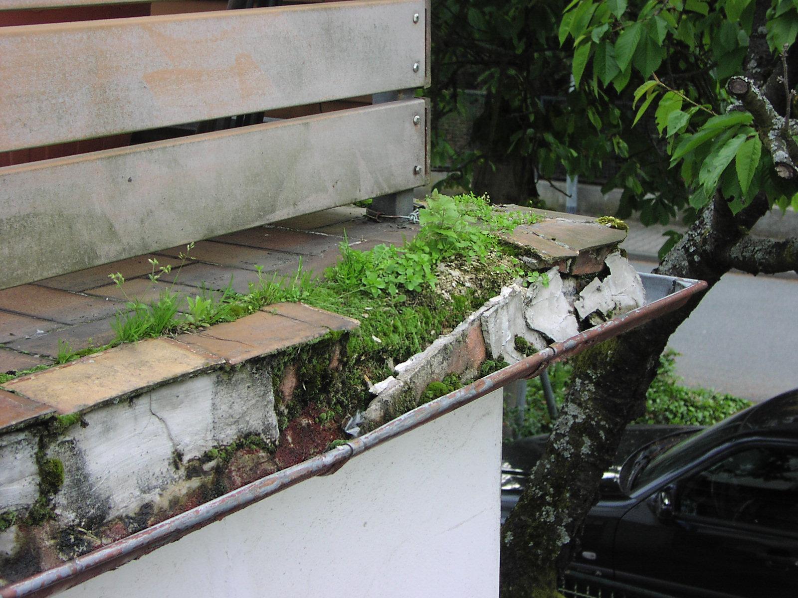 Balkonsanierung regen